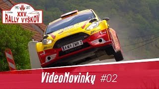 XXV. Rally Vyškov - atmosféra, průjezdy a rozhovory po RZ3 (ACTION)