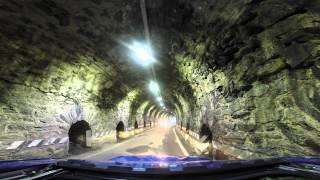 Stelvio Pass Crash: Man vs. Tunnel