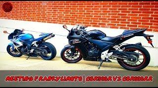 MotoVlog Episode 11 | Meeting FrankyLiMoto | CBR500R vs CBR600RR