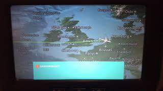 Mer du Nord, Montreal-Amsterdam flight