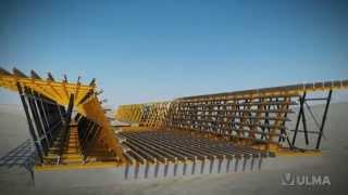 видео Пролетные строения мостов с фермами