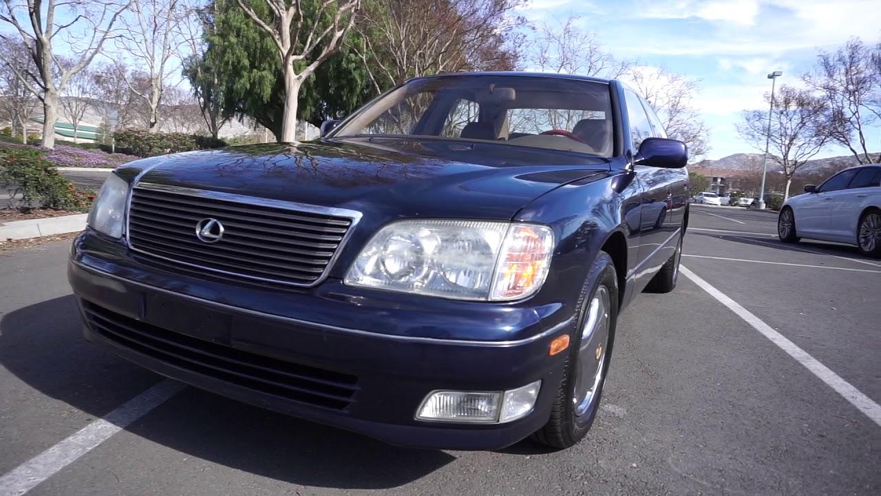 1999 Lexus LS400 Luxury Sedan 1 Owner Car For Sale
