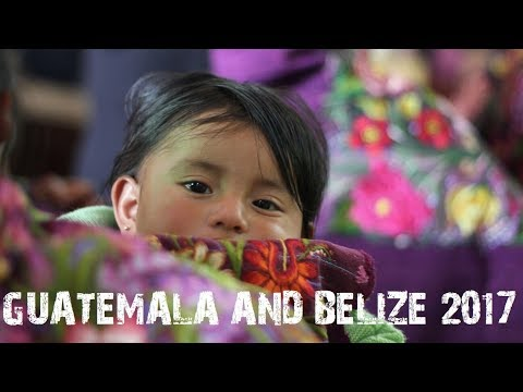 Guatemala & Belize 2017 travel  - Estonians with backpacks exploring Central-America