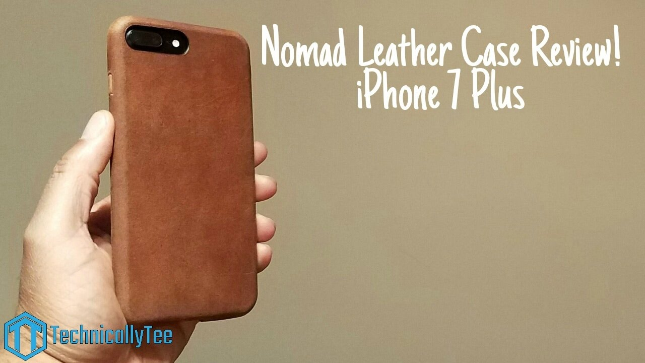 size 40 e50ad 4e4a7 iPhone 7 Plus Nomad Leather Case Review!
