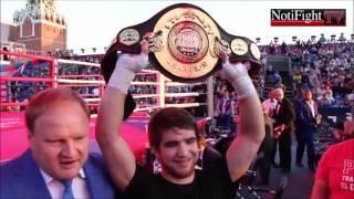"""Cobertura Exclusiva """"Dia del Boxeo"""" en Moscú, Rusia"""