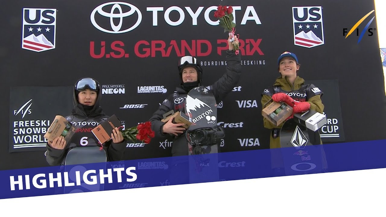 Shaun White scores a 100 to win Snowmass Halfpipe World Cup | Highlights #1