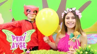Peri Ayşe ve Baykuşkız Güneşi kurtarıyor! Çocuk videosu