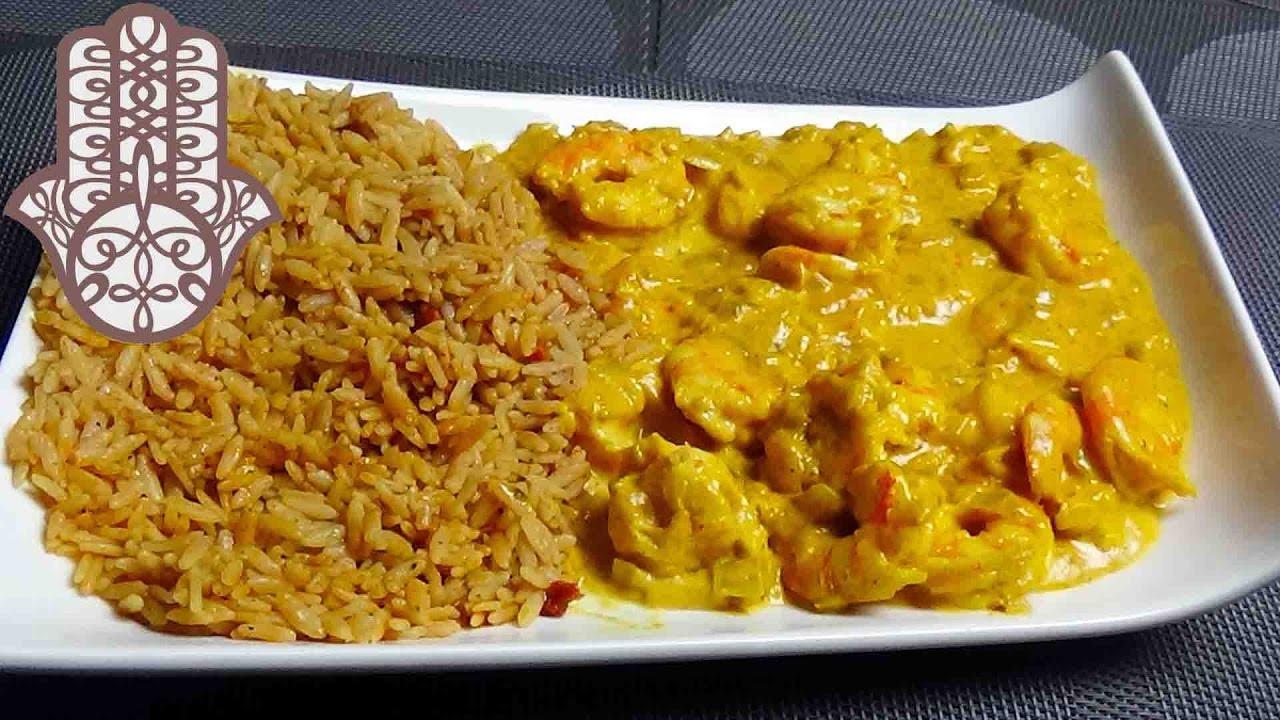 Crevettes au curry youtube - Comment cuisiner des crevettes roses ...