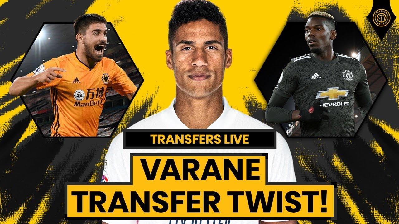 Varane Transfer Twist!? | Man United Transfers LIVE