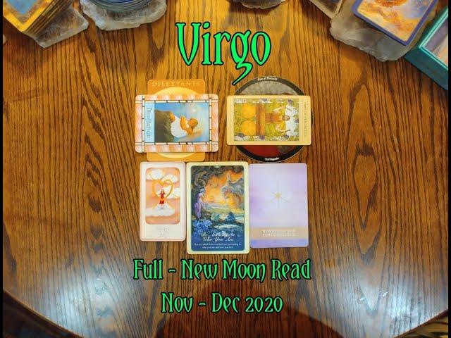 VIRGO: FULL - NEW MOON 7 CARD DRAW= NATURE + MEDITATION + EARTHQUAKE + BEAUTY - NOV-DEC 2020