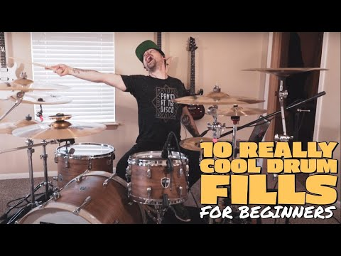 10 REALLY COOL drum fills (for beginners)
