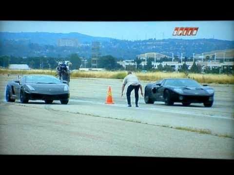 Battle Of The Supercars Ford Gt Vs Lamborghini Gallardo Round   Redo Mph Challenge