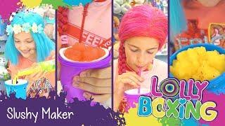 Lollyboxing 23 - Slushy Maker (výroba ledové tříště)