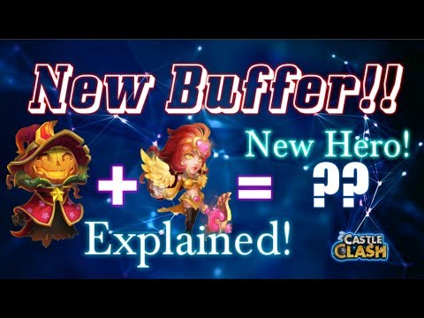 New Hero Skill Explained New Support!! Castle Clash