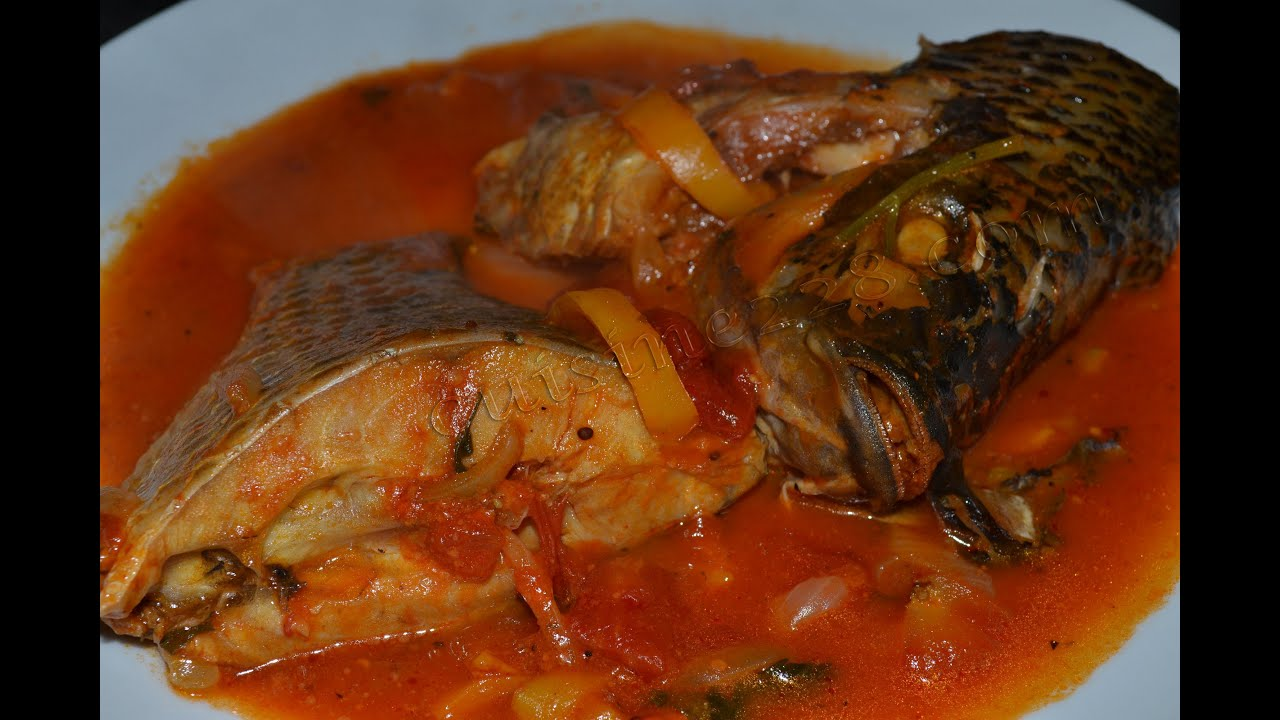 Lanmoumou dessi sauce de poisson frais fresh fish soup for Africaine cuisine