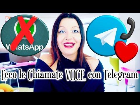 Addio WhatsApp: ecco le chiamate vocali di TELEGRAM!🗣📲📞
