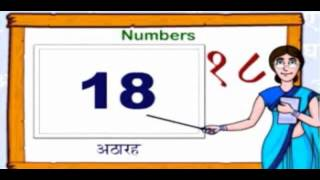 Hindi Numbers - Hindi Numbers 1 to 100