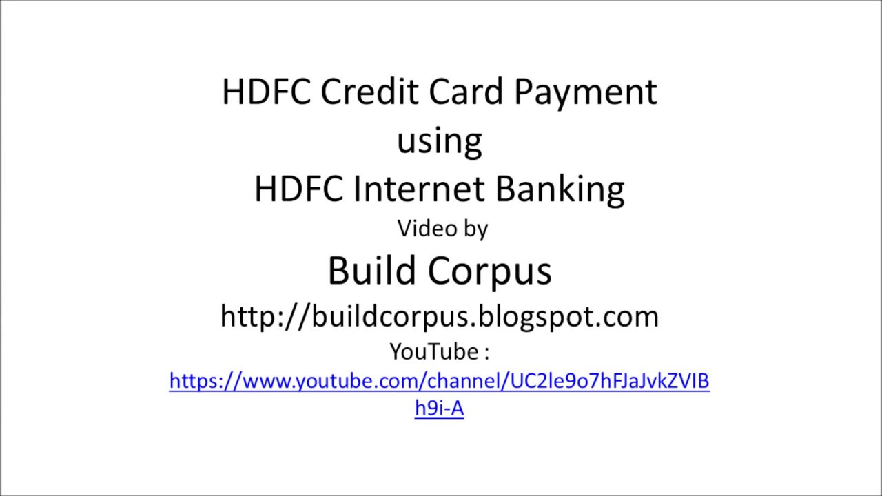 Hdfc forex card not working