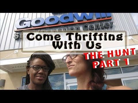Goodwill Centennial THE HUNT Part 1 Come Thrifting With Us #ThriftersAnonymous
