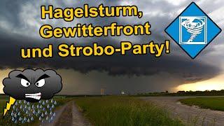 Highlights von drei Tagen Sturmjagd, 3. bis 5. Juni 2019 - Hagelunwetter - Superzelle - Shelfcloud