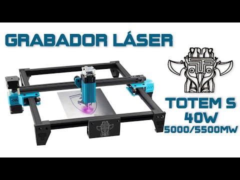 TOTEM S 40W Grabador Láser