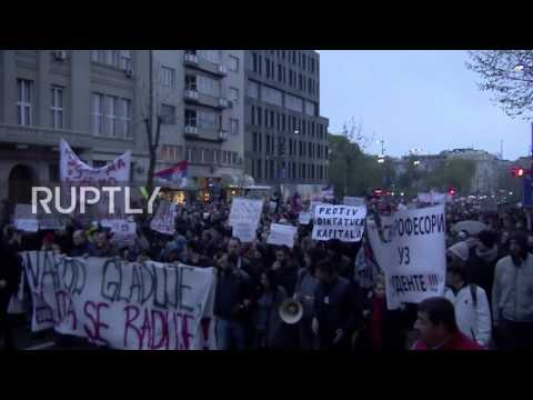 Serbia: Anti-Vucic protests continue for fifth night