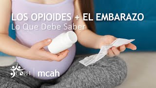 Opioides + embarazo. Lo que debe saber. Hable con su doctor.