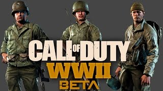 CALL OF DUTY WW2 BETA