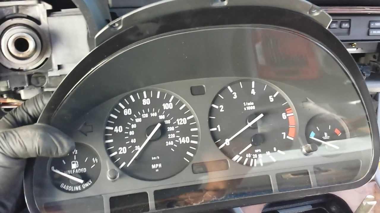 maxresdefault bmw e39 540i 530i 528i 525i dash cluster speedometer removal 2017 BMW 540I at eliteediting.co
