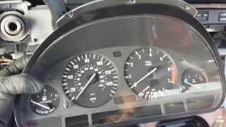 BMW E39 540i 530i 528i 525i - Dash Cluster Speedometer Removal