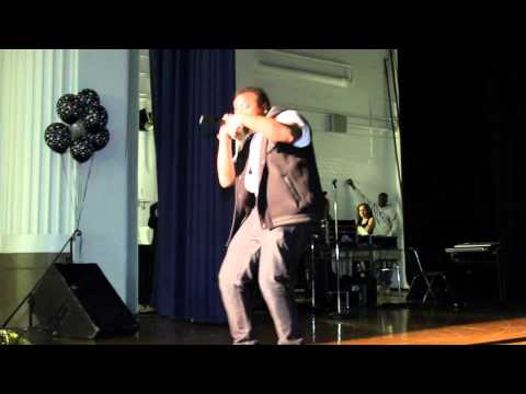 @OverTymeSimms Live at August Martin High School Queens New York