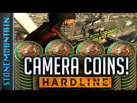 Battlefield Hardline PC CAMERA COINS Grind - Hardline PC SNIPING Gameplay & Playing w/ Game Dev
