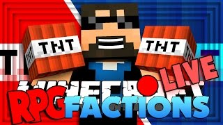 Minecraft: RPG Factions | RAIDING AND WAR!! [8]