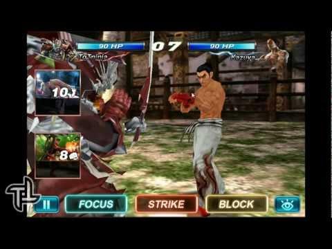 Tekken Card Tournament: Brief Gameplay