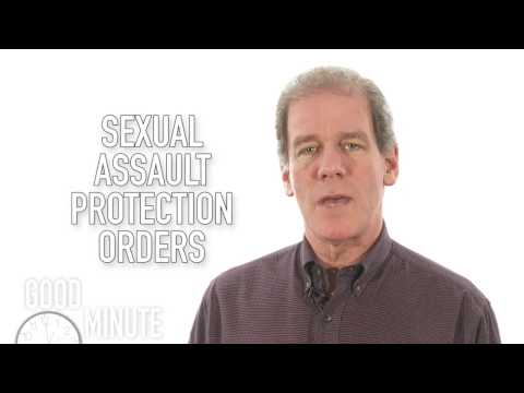 Goodman's GoodMinute: Sexual Assault Protection Orders