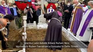 Msgr. RUBEN TIERRABLANCA GONZALEZ CENAZE TÖRENİ