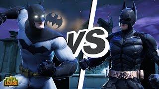BATMAN V's THE DARK KNIGHT!!! - FORTNITE X BATMAN