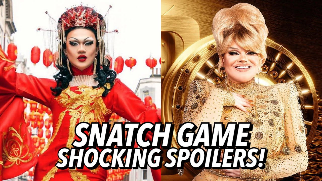 Download Drag Race UK S3 Episode 6 SNATCH GAME SPOILERS!