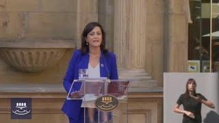 """Andreu promete su cargo y afirma: """"Este será el siglo feminista"""""""