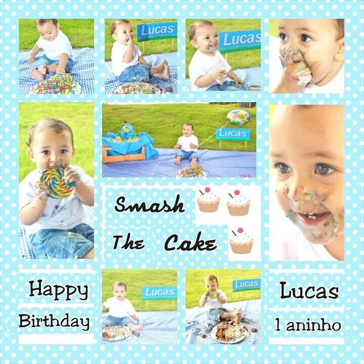 Count Smash Cake