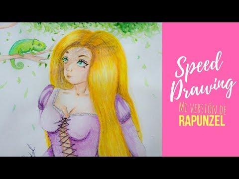 Speed Drawing: Rapunzel | IRSG