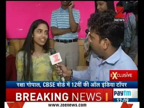 CBSE Class XII results: Amity International School, Noida's Raksha Gopal tops with 99.6%