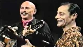 """Юл Бриннер и Алёша Димитриевич, песня """"Две гитары"""""""