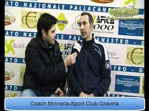 Coach Minnella Sport Club Gravina