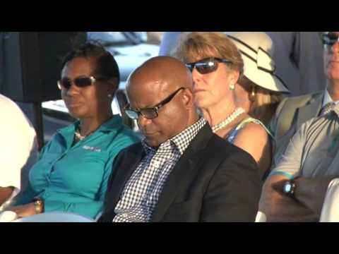 Customs House at Christophe Harbour Ground Breaking Ceremony
