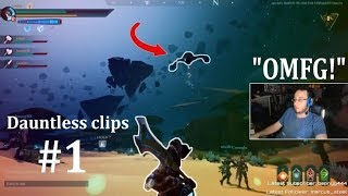 INSANE AIRSHOT! (Dauntless) Epic & Funny Moments #1