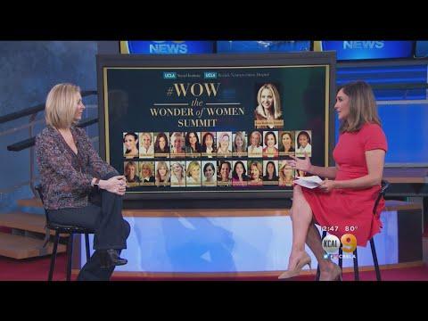 Actress Lisa Kudrow Discusses Upcoming Women's Health Summit At UCLA
