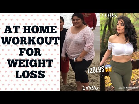 AT HOME WORKOUT FOR WEIGHT LOSS | Lizeth Barreto