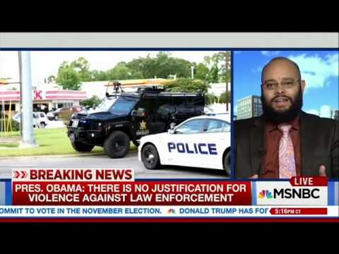 Dr. Phillip Atiba Goff on MSNBC with Brian Williams