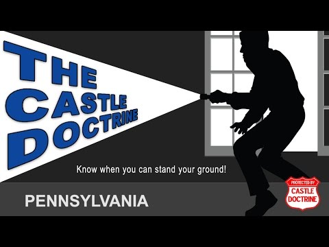 PA Castle Doctrine